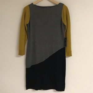 Jessica Howard Geometric Sweater Dress